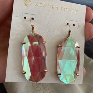 Kendra Scott Rose Gold Statement Earrings